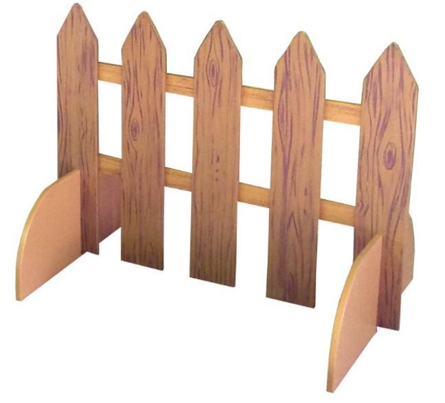 Забор из картона своими руками для поделки 77