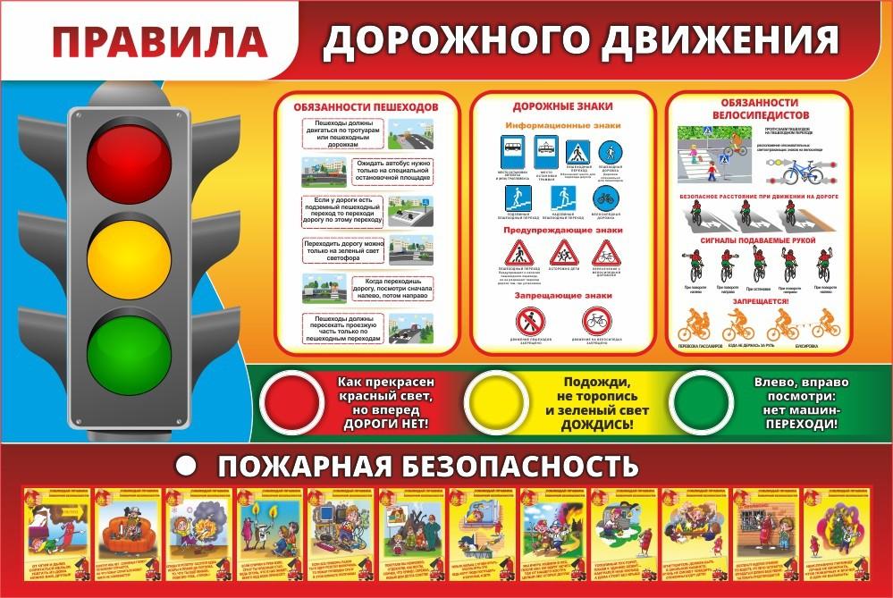 Картинки стенда по безопасности дорожного движения